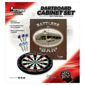 Battlers Bar Cabinet Set