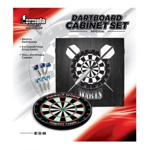Imperial Dartboard Cabinet Set
